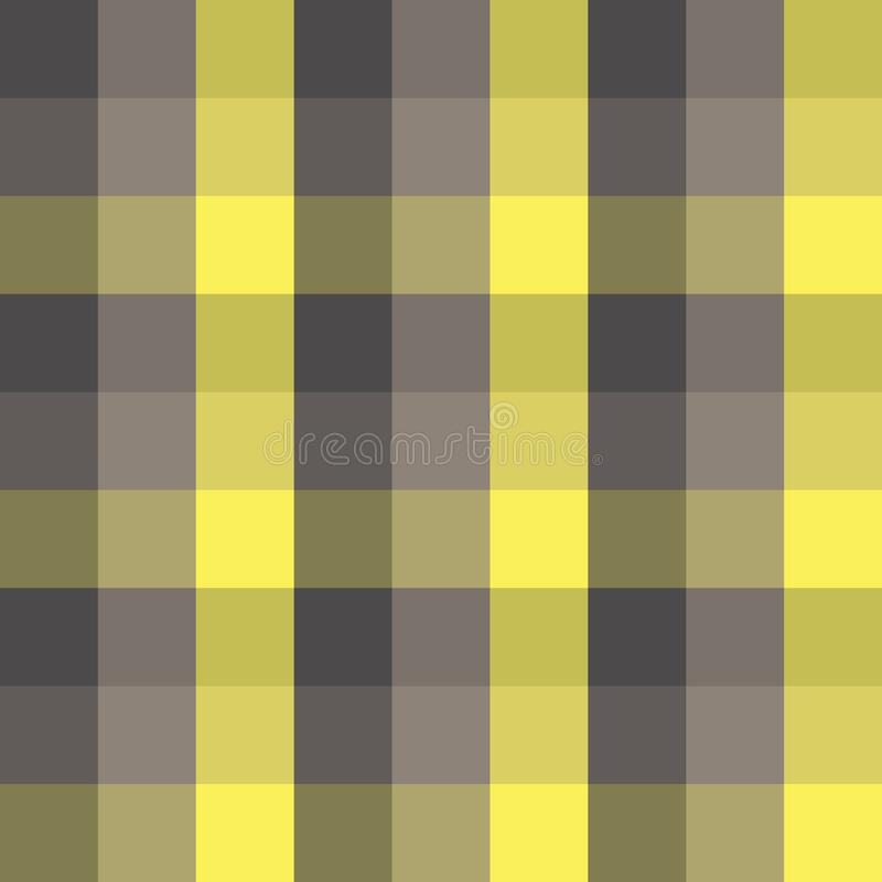 Seamless checkered plaid vector pattern geometric background colorful mosaic design made of tiled squares classic vintage retro ar vector illustration