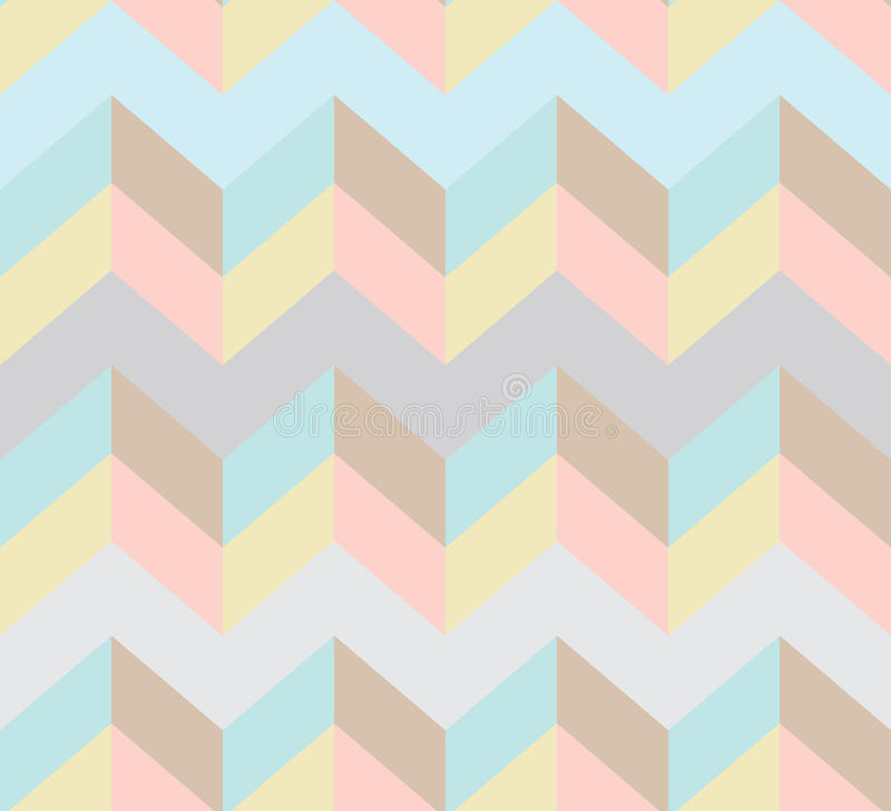 Download Seamless chevron pattern stock vector. Image of traditional - 25400169