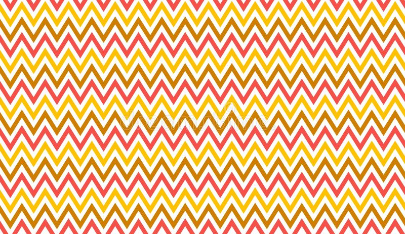 Seamless chevron pattern background. Design, yellow, colors, orange, creative, graphic, wall, wallpaper, cotton, blanket, fashion, room, interior, dress, shirt vector illustration
