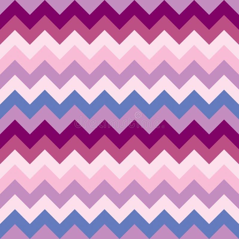 Seamless chevron pattern (vector) stock illustration