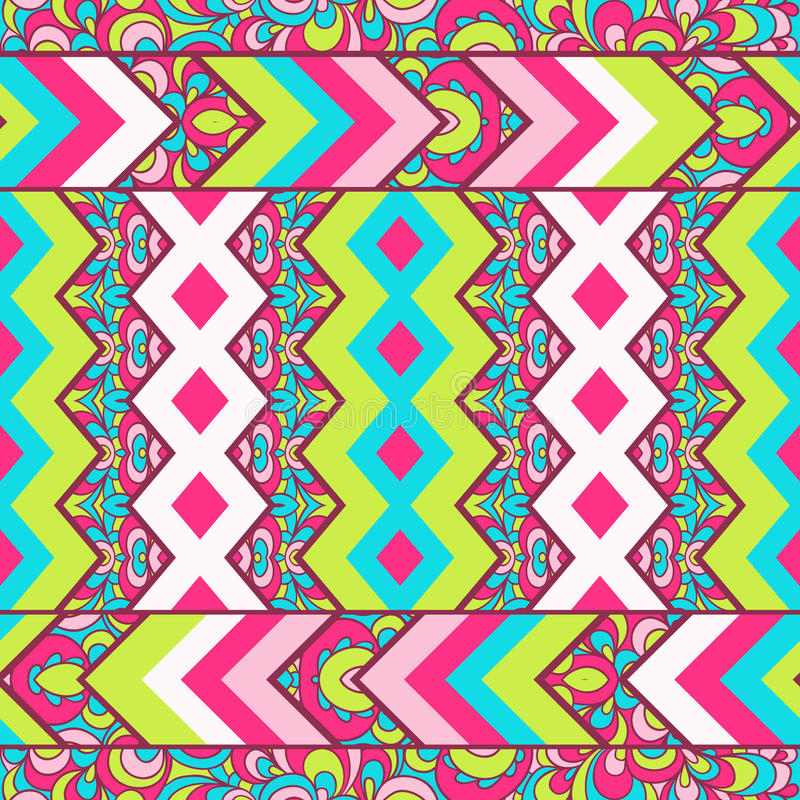 Free Seamless Chevron Zig Zag Pattern Background Royalty Free Stock Photos - 36449708