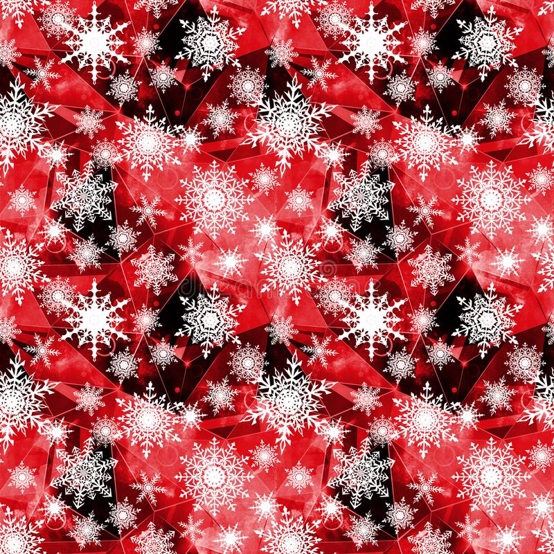 Seamless Christmas pattern. vector illustration