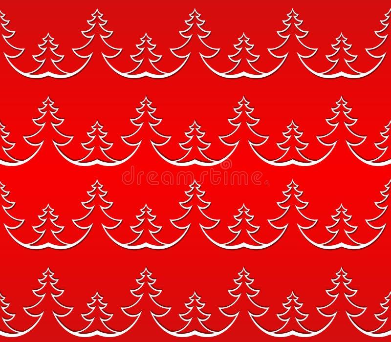 Seamless Christmas Tree Pattern