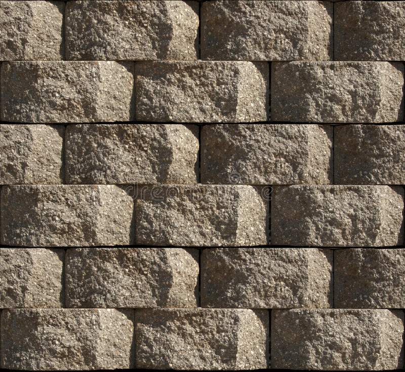 Seamless Block Wall : Seamless cinder block stock image of wall blocks