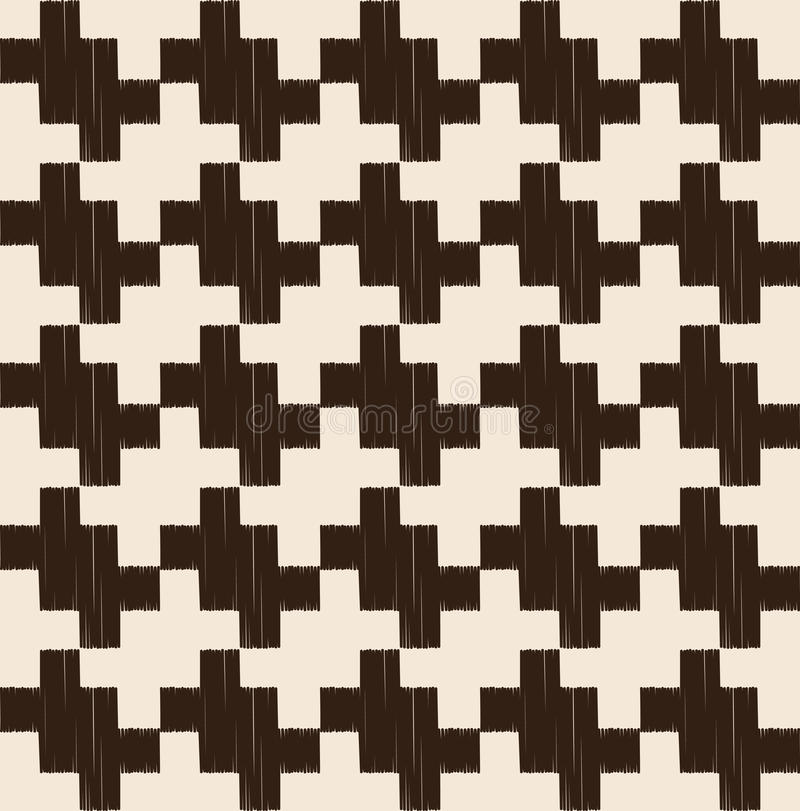 Seamless geometric mesh textured pattern vector illustration