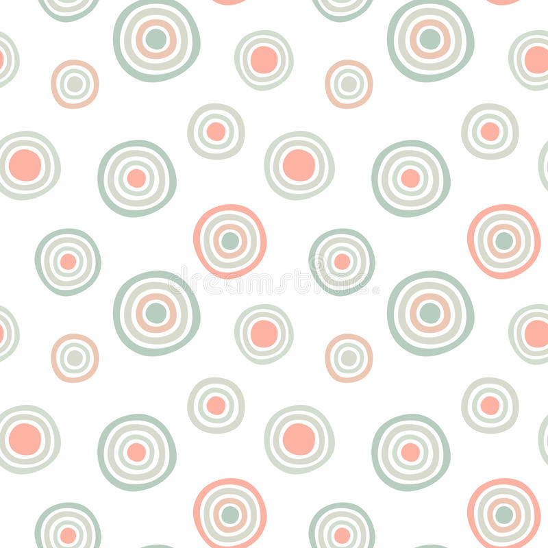 Seamless Circles pattern background royalty free stock photo