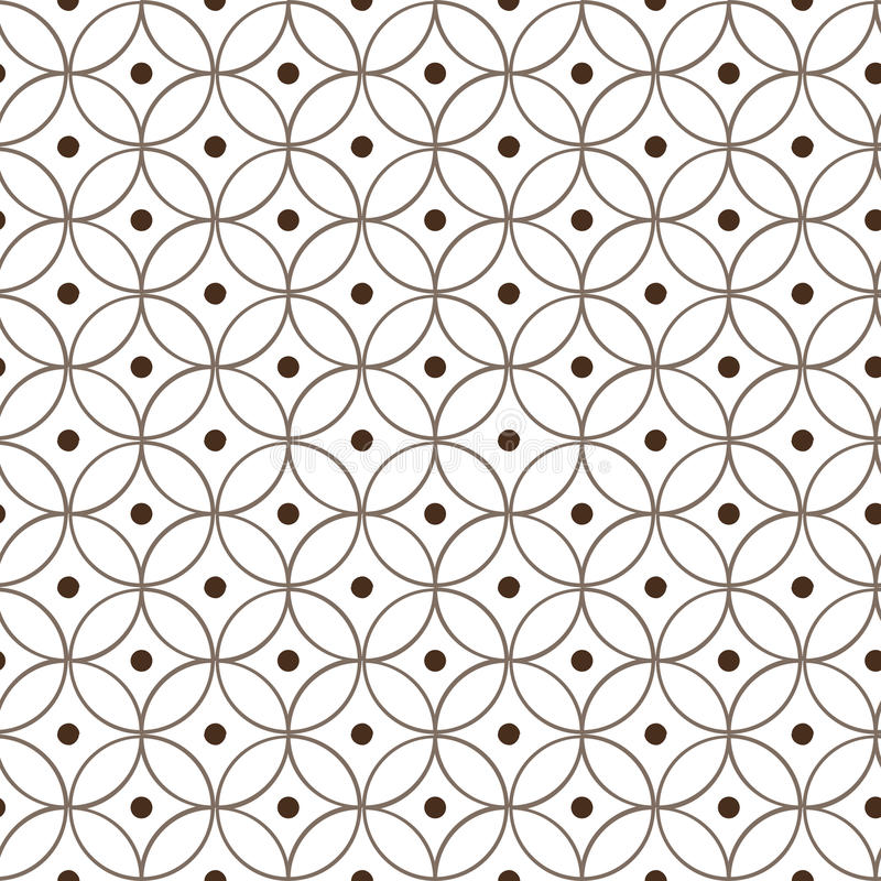 Seamless circular pattern royalty free stock photos