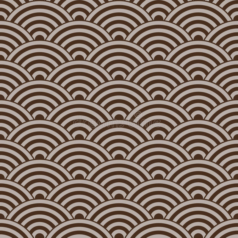 Seamless circular pattern royalty free stock image