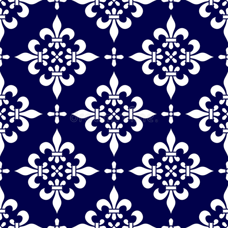 Free Seamless Classic Pattern [1] Royalty Free Stock Photos - 10210918