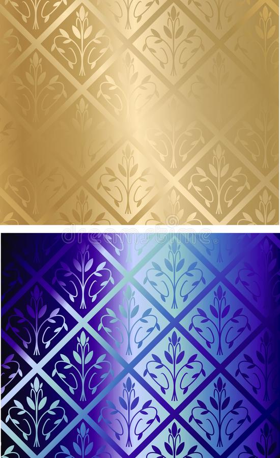 Seamless cloth vector set royalty free illustration