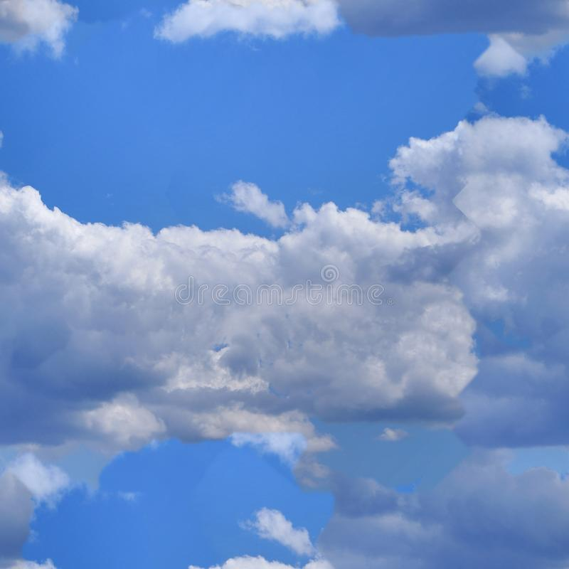 Download Seamless Cloud Background Royalty Free Stock Image - Image: 12740266