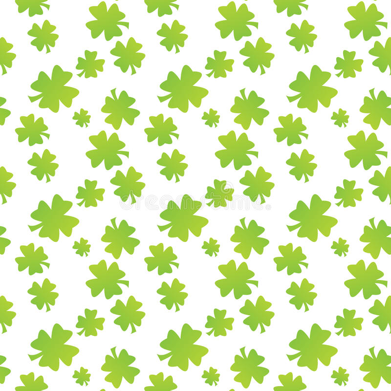 Download Seamless Clover Leaf Pattern Stock Photo - Image: 10272550