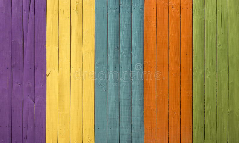 Seamless colored wooden texture wall stock images