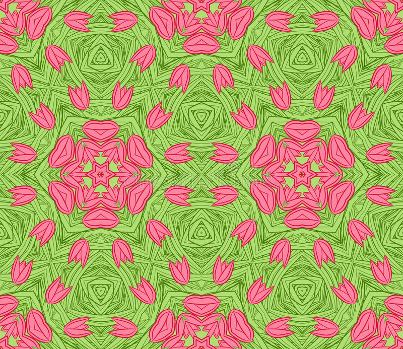 Download Seamless Colorful Floral Pattern Background Stock Vector - Illustration: 24426090