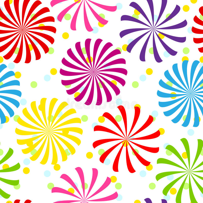 Download Seamless Colorful Spiral Pattern Stock Photography - Image: 29990172