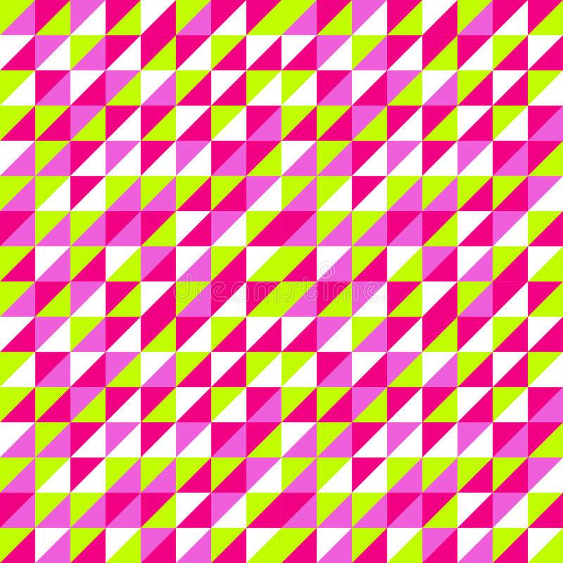 Seamless Colorful triangle pattern. triangle background. Geomet stock image