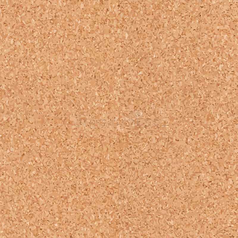 Seamless cork board texture vector illustration