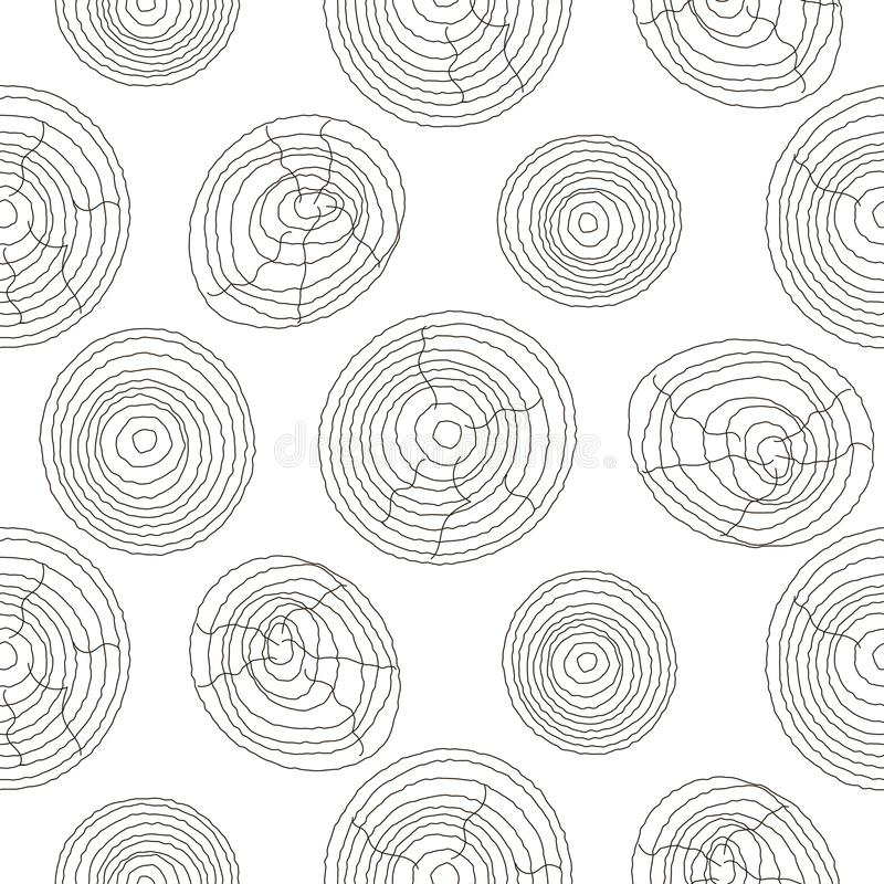 Seamless cork wood white pattern. Wooden texture vector background. vector illustration