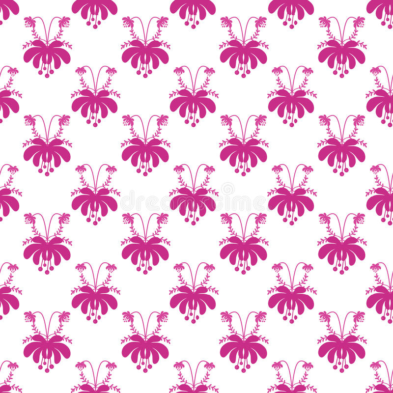 Seamless cute cartoon flowers pattern on white background stock download seamless cute cartoon flowers pattern on white background stock illustration illustration of paper mightylinksfo
