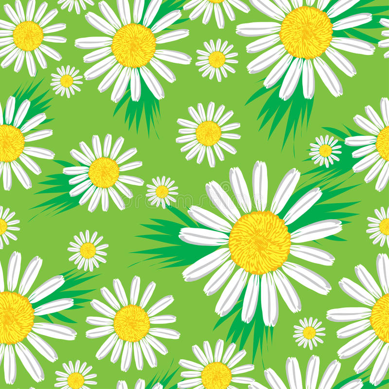 Free Seamless Cute Floral Pattern Stock Image - 9863531