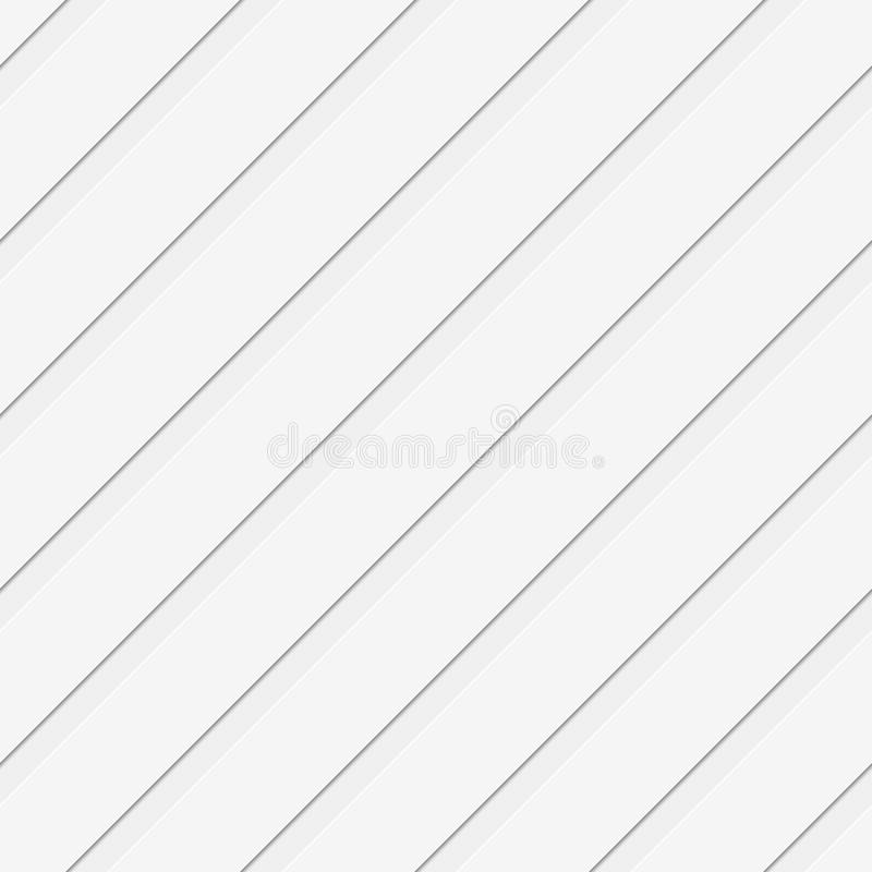 Seamless 3d diagonal stripe pattern background royalty free illustration
