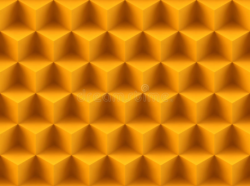 Seamless 3d pattern stock images