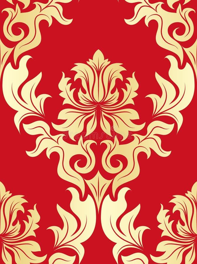 Free Seamless Damask Pattern Royalty Free Stock Image - 10102456
