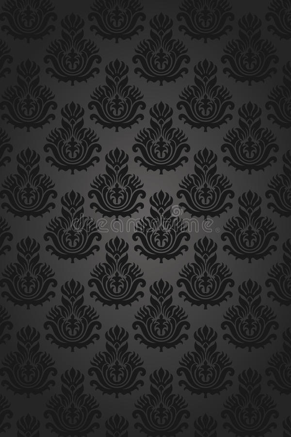 Download Seamless damask pattern stock vector. Image of damask - 14275467