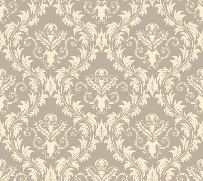 Free Seamless Damask Pattern Royalty Free Stock Image - 15007636