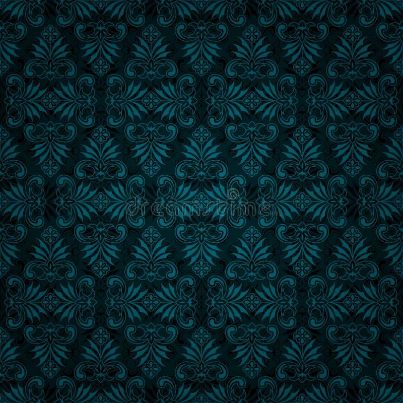 Blue Tiles Wallpaper