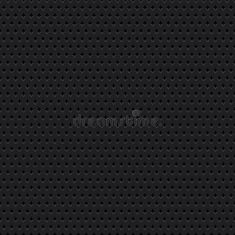 Seamless dark metallic background