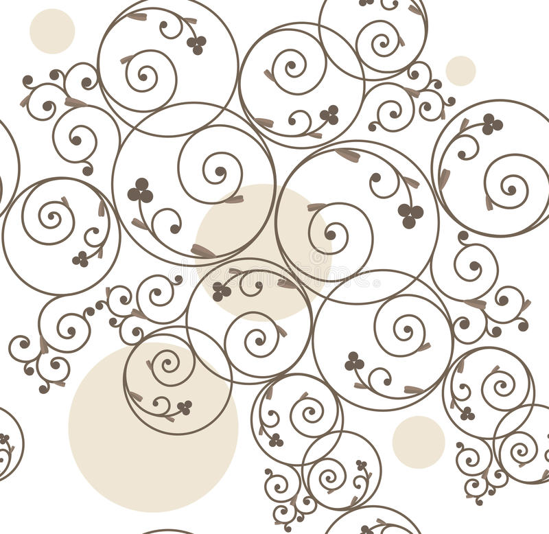 Download Seamless Decorative Background Stock Vector - Illustration: 12576338