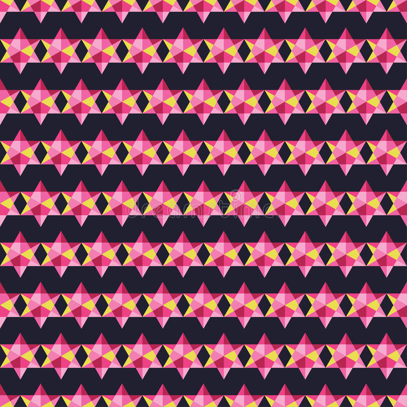 Seamless decorative background with abstract pattern. Print. Cloth design, wallpaper. royalty free illustration
