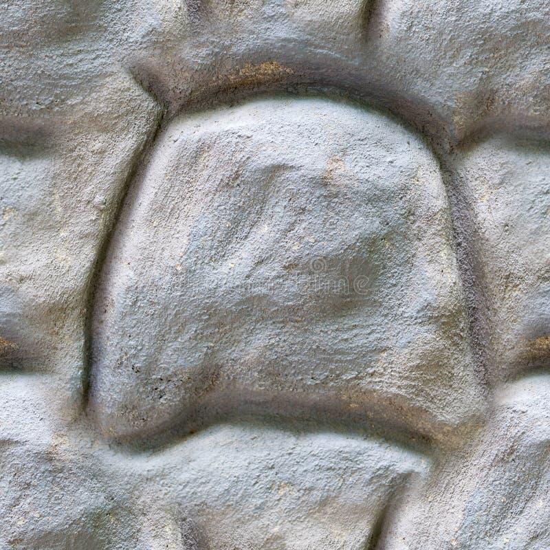 Seamless gray stone concrete wall texture. background. royalty free stock photo