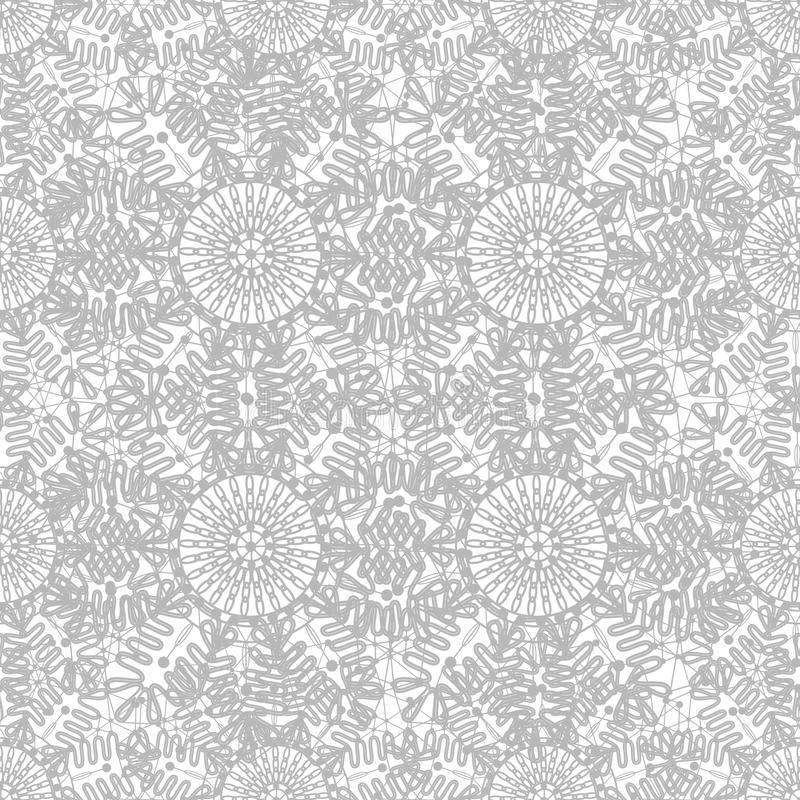 Seamless Decorative  Lace Ornament Royalty Free Stock Image