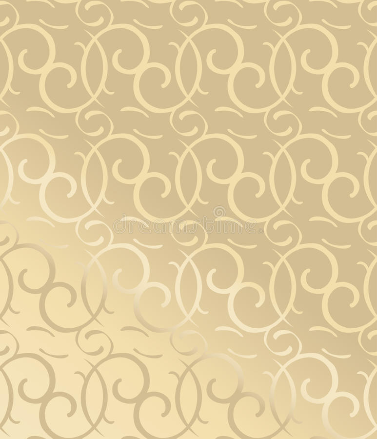Seamless Decorative Wallpaper Stock Vector - Illustration of italian ...