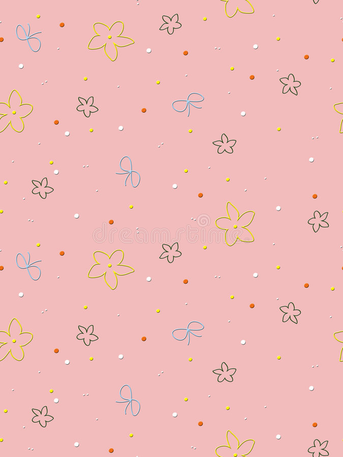 Download Seamless Design Wrapping Paper Stock Illustration - Image: 7132753