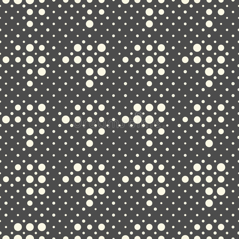 Seamless Diagonal Pixel Pattern. Vector Black and White Geometric Background royalty free illustration