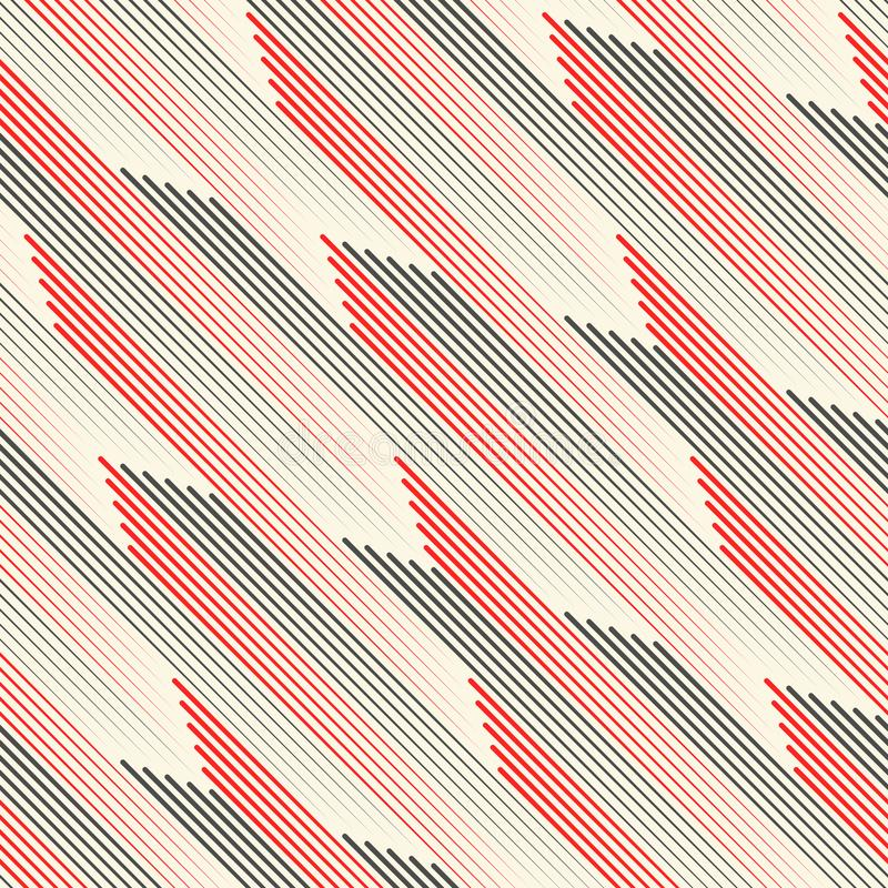 Download Seamless Diagonal Stripe Wallpaper Abstract Geometric Texture Stock Vector