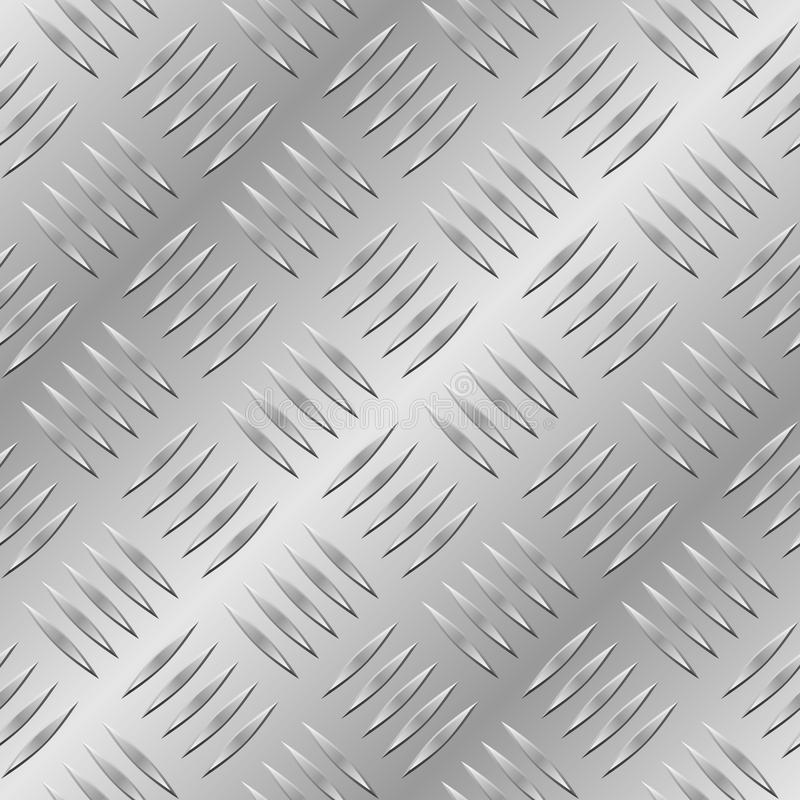 Free Seamless Diamond Metal Plate Royalty Free Stock Images - 13064819