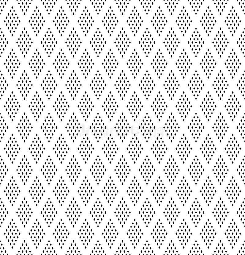 Seamless diamonds pattern. Geometric texture royalty free illustration