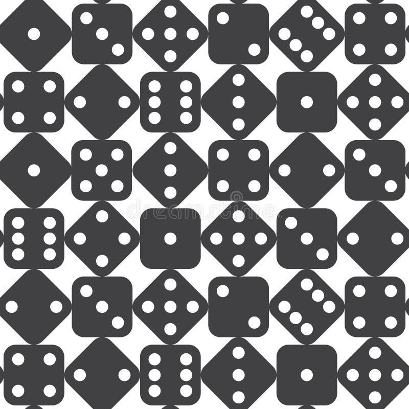 Free Seamless Dice Pattern Stock Image - 46466481