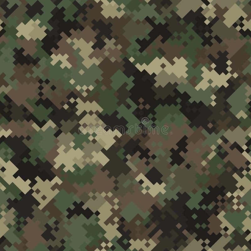 Pixel camo seamless pattern. Grey urban camouflage. Clipart   k42897741    Fotosearch