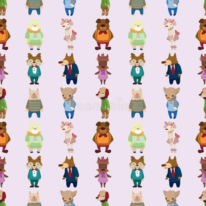 Download Seamless dog pattern stock vector. Illustration of doodle - 27772029