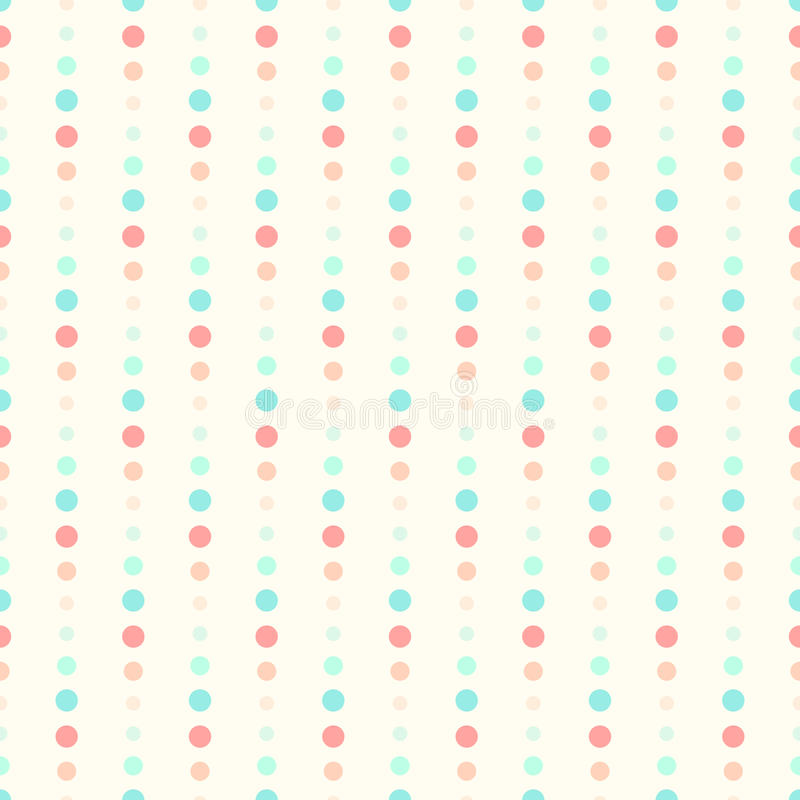 Seamless dots background vector illustration