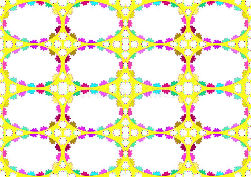 Seamless Easter Eggs Background vector illustration