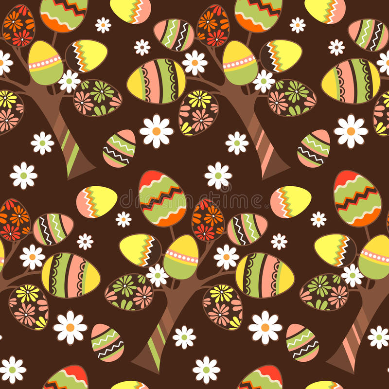 Download Seamless Easter Pattern With Eggs Stock Vector - Image: 18326089