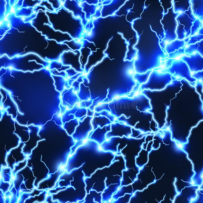 Free Seamless Electricity Background. EPS 10 Stock Photo - 84469200