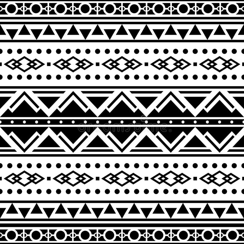 Monochrome Seamless Pattern Stock Vector - Illustration of ...