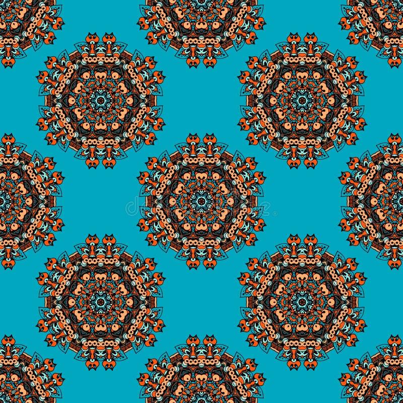 Seamless Ethnic Pattern vector illustration